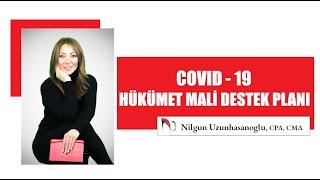 COVID-19 KANADA HÜKÜMETİ MALİ DESTEK PAKETİ