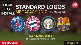 How to Install Real Club Logos in FM17 Tutorial - Football Manager 2017
