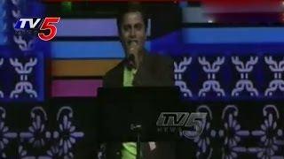 NATA Cultural Events 2014 | Telugu Folk Songs Vandemataram Srinivas : TV5 News