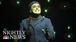 A Broadway Star's Unlikely Journey From Wall Street To 'Wicked' | NBC Nightly News