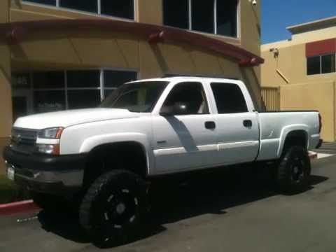 2005 CHEVROLET DURAMAX SILVERADO 2500HD 4X4 CREW CAB pro comp LIFT PRO TRUCKS PLUS - YouTube