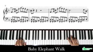 Baby Elephant Walk (Piano Tutorial)
