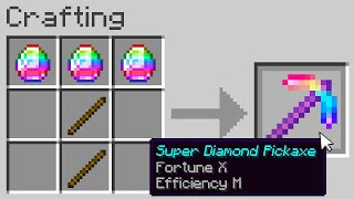 "You can craft ""Super Diamond"" items..."