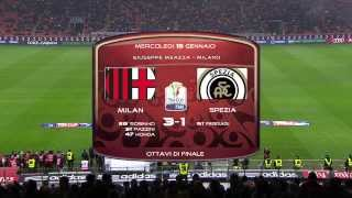 Video Gol Pertandingan AC Milan vs Spezia