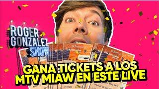 ¡REGALANDO TICKETS A LOS MTV MIAW 2019! #LIVE thumbnail
