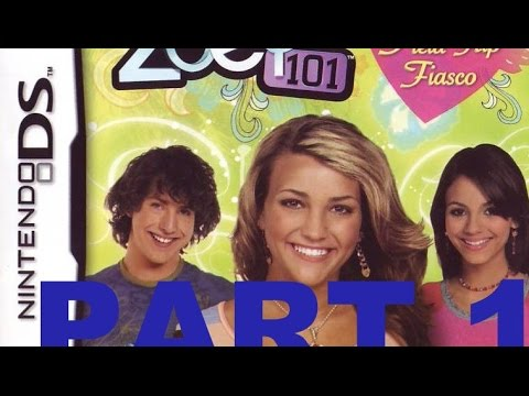 Zoey 101 : Field Trip Fiasco (NDS) Walkthrough Part 1 With Commentary