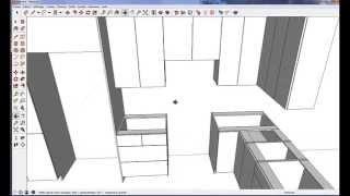Fusion 3D / SketchUp Logiciel de cuisine pro GRATUIT