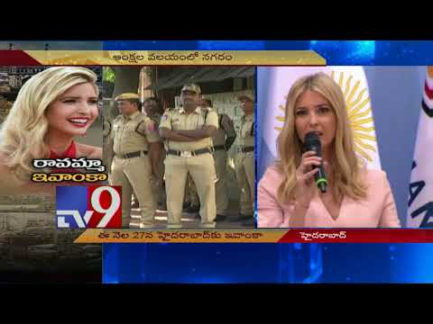 Hyderabad gets a makeover for Ivanka Trump