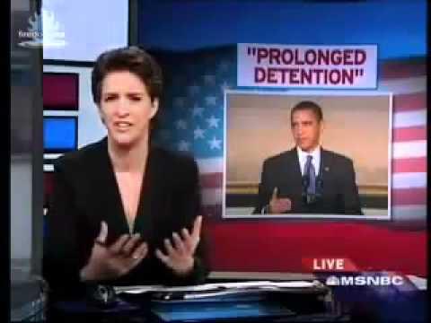 Obama speech-disclosure; NDAA FORECAST