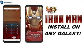 INSTALL LIMITED EDITION IRON MAN THEME ON ANY SAMSUNG GALAXY! NO ROOT!