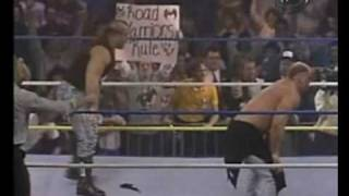 February 25, 1990 WCW WrestleWar Chicago Street Fight The New Skyscrapers vs The Road Warriors p2