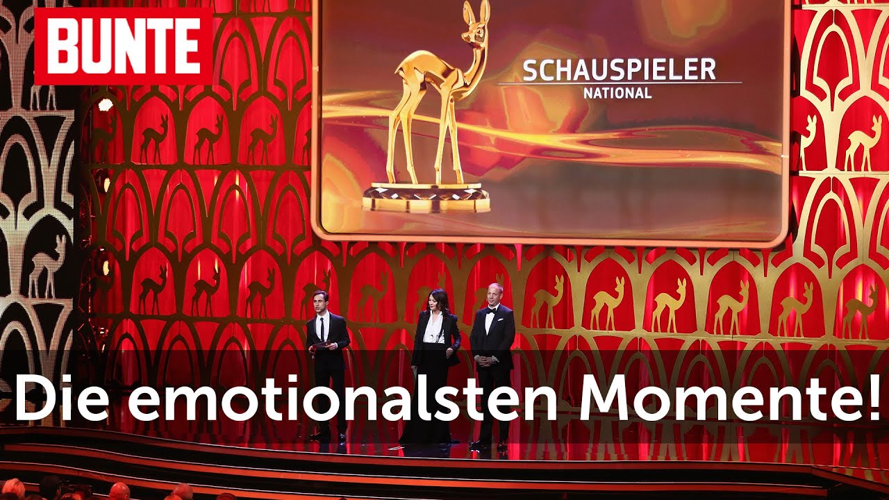 BAMBI 2015 - Große Emotionen: Diese Show bleibt unvergesslich  - BUNTE TV