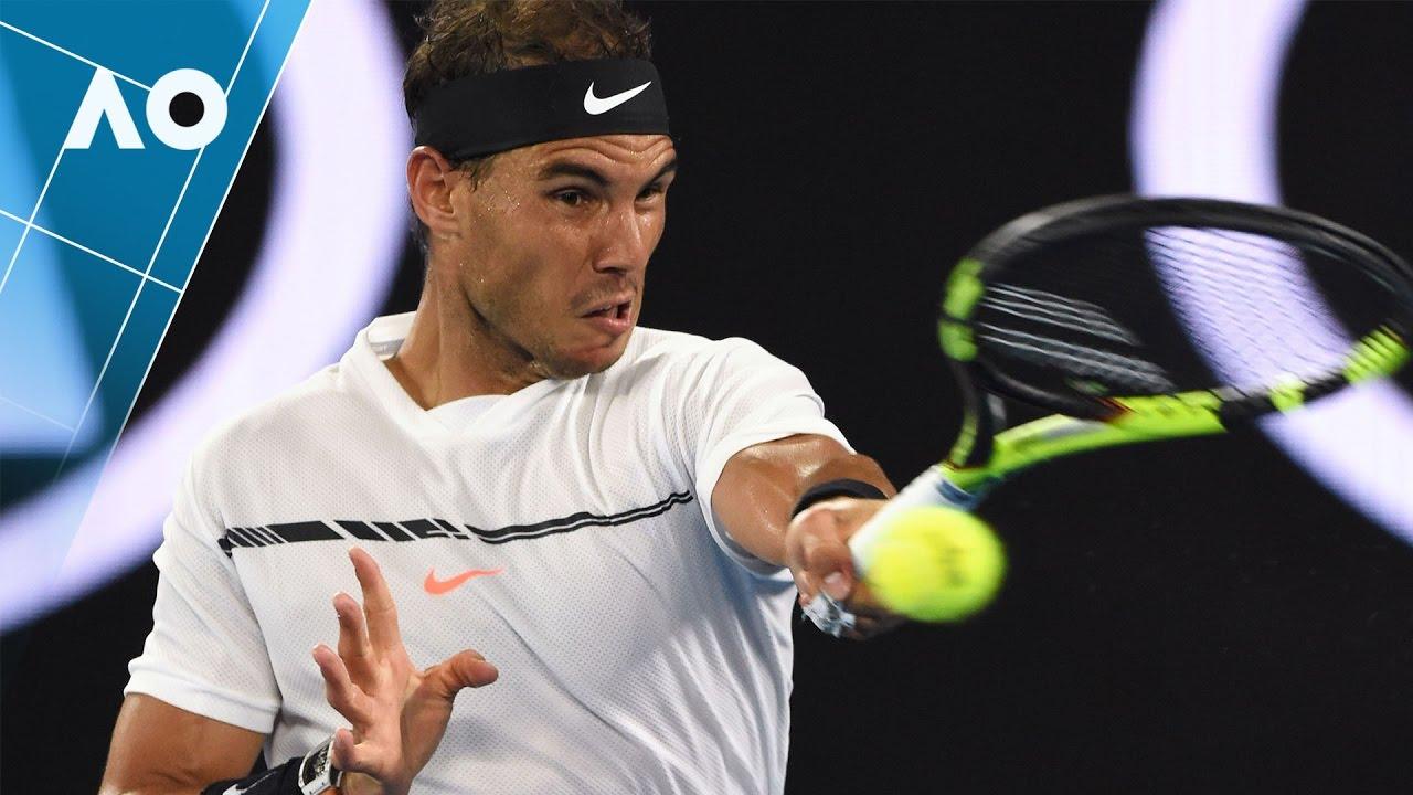ff7469c8 Nadal's insane winner v Federer (Final) | Australian Open 2017 - YouTube