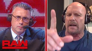 """Stone Cold"" Steve Austin weighs in on SummerSlam's main event: Raw, Aug. 12, 2019"