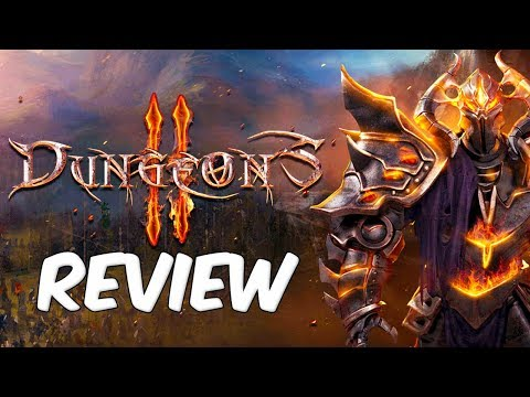 Dungeons 2 Review | Fantasy Comedy Strategy RPG RTS Dungeon Builder