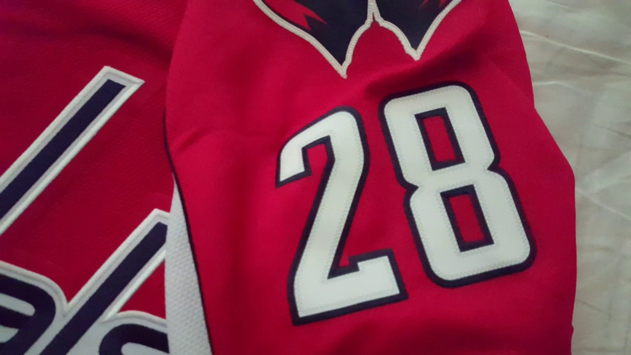 a5b8dc992dd Washington capitals jersey unboxing - YouTube