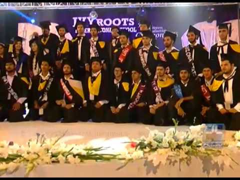 24 Report : Annual function held in Roots school of Faisalabad