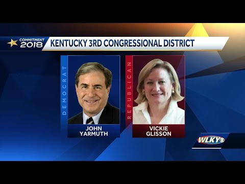Republican Vickie Yates Glisson challenges Rep. John Yarmuth in Kentucky's 3rd District