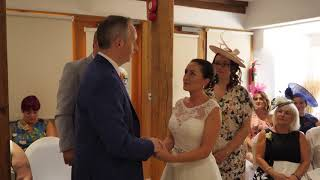 Claire and Steven get married in Rayleigh Windmill