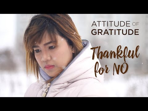 Thankful for No
