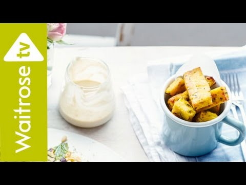 Courgette Polenta Chips | Waitrose