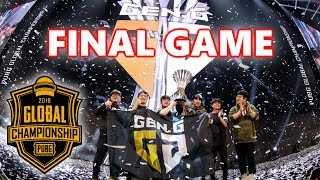 PUBG GLOBAL CHAMPIONSHIP WINNER GEN.G - FINAL GAME - Pio, Loki, Esth3r & Taemin