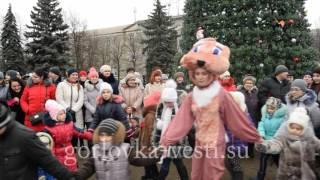 «Рождественская сказка» на главной площади Горловки