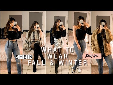 [VIDEO] - FALL & WINTER OUTFIT IDEAS | HAUL 2