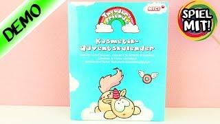 Adventskalender EINHORN SCHMINKE | Wir öffnen alle 24 Türchen! Kosmetik Kalender von Nici für Kinder