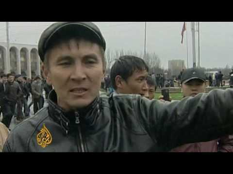 Opposition usurps power in Kyrgyzstan