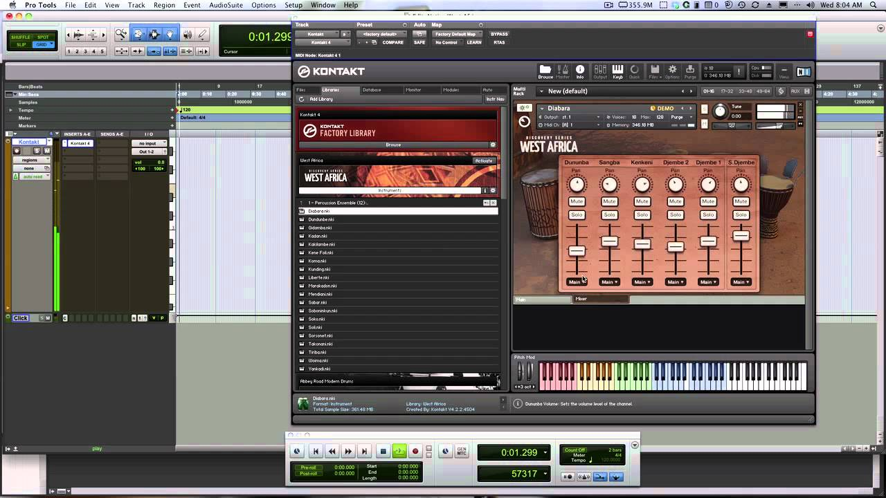 ni kontakt 6 review