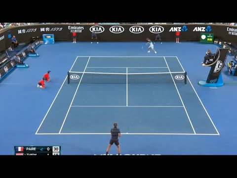 Thiem vs. Paire - Australian Open 2019 R1 EXTENDED Highlights