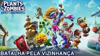 BATALHA pela VIZINHANÇA Plants vs Zombies BATTLE for NEIGHBORVILLE