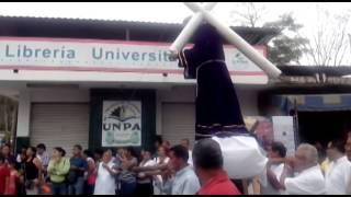Con mucha fe, se representó el viacrucis 2014 en Tuxtepec