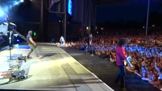 Onstage with Tim McGraw for Down On The Farm, Toronto, July 16 2015