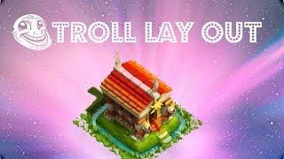 Hero Sky: Epic Guild Wars - Town Hall Defence - [TROLL lay-out!]