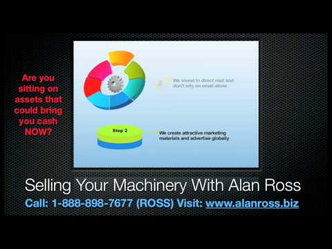 Selling Your Machinery With Alan Ross Machinery - Scrap Processing Used Equipment & Recycling Sales