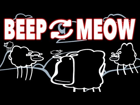 Beep Beep I'm a Sheep but the Beeps and Meows are swapped (Meow Meow I'm a Sheep)