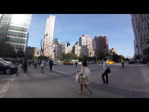 One World Trade Center New York City 2017 Skateboarding around the neighborhood
