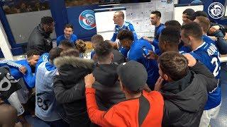 VIDEO: La joie après Racing-Nîmes Olympique (4-1)