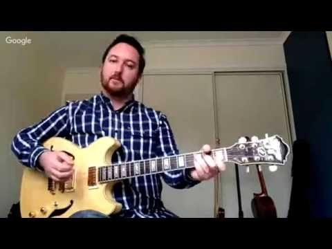 Jazz Chord Progression Workshop Replay With Stuart King & Greg O'Rourke