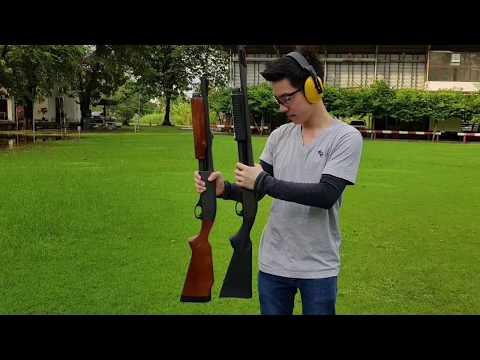 Remington 870 14 นิ้ว 18 นิ้ว กลุ่มกระสุนตัวไหนดีกว่ากัน?