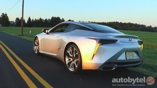 2018 Lexus LC 500 Test Drive Video Review