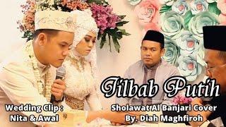 Qasidah Jilbab Putih Cover by Diah Maghfiroh - Wedding Clip Nita & Awal