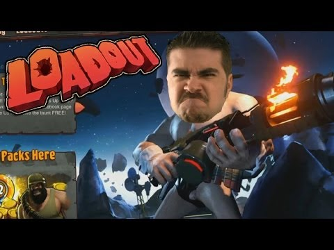 Angry Joe Plays Loadout! [Hairy Balls & El Fuego de Jose!]
