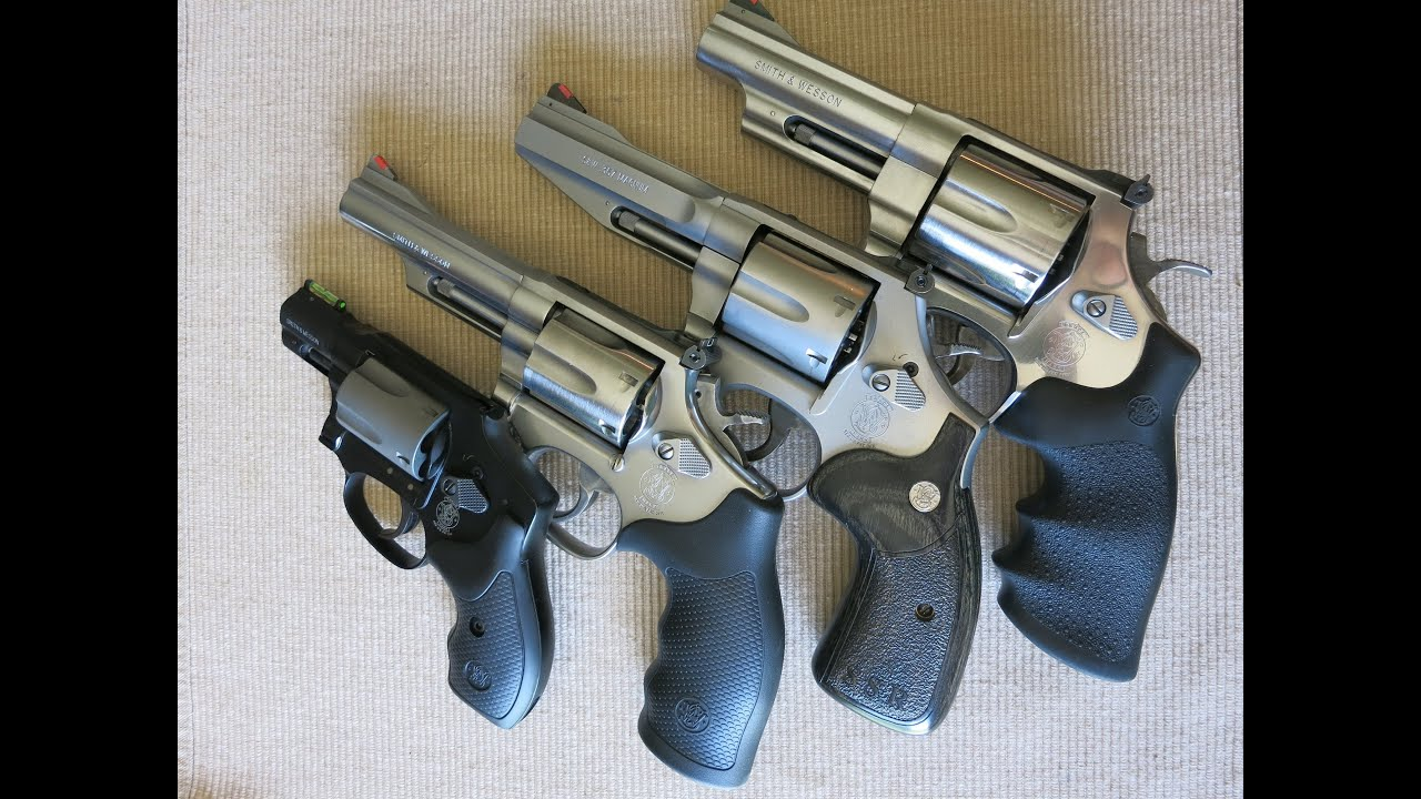 Smith and Wesson Revolver Frame Size Comparison (J vs K vs L vs N ...