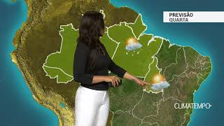 Previsão Norte – Instabilidade se espalha mais