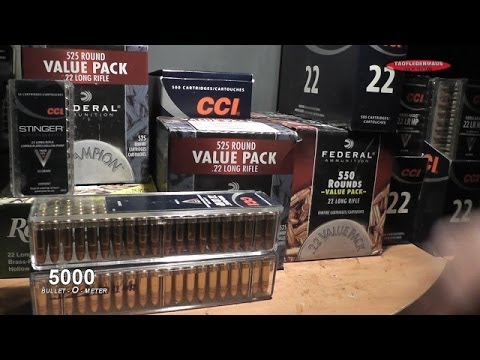MAJOR .22LR Ammo Find at 99 cent store!
