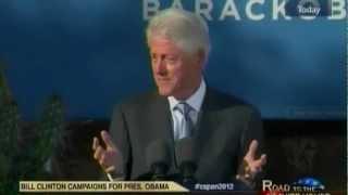 President Bill Clinton on the Real Mitt Romney