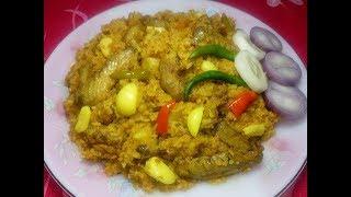 Bengali Bhuna Khichuri - ভূনা খিচুড়ি - Easy Vuna Khichuri Recipe - Bangla Khisuri Ranna